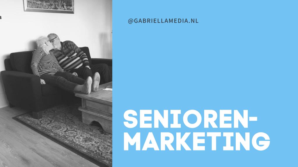 Seniorenmarketing - tekstschrijver ouderen