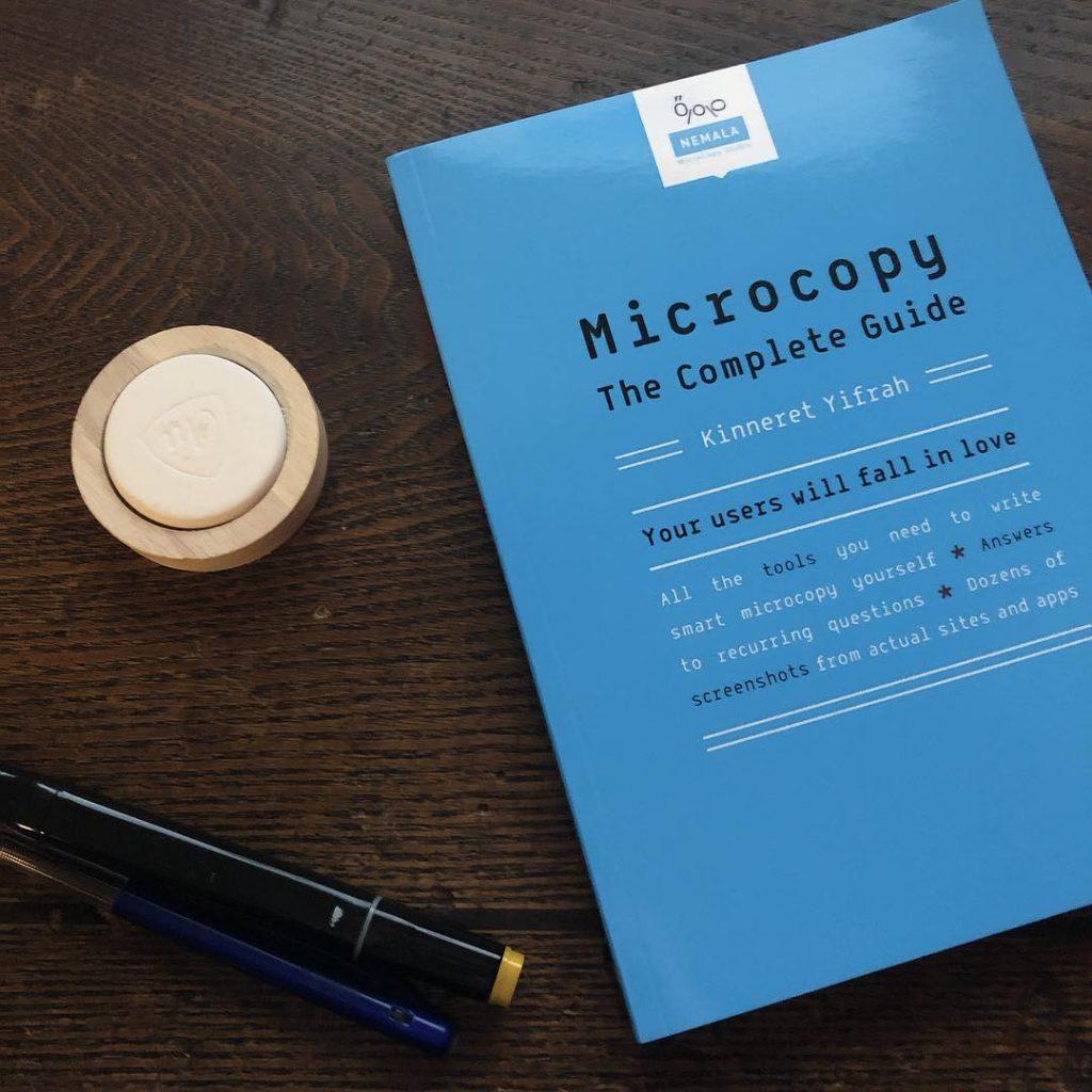 Microcopy - Gabriëlla Media - UX writer