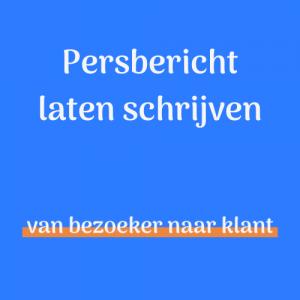 Persbericht laten schrijven - Persbureau Friesland