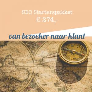 SEO Starterspakket - Word beter gevonden in Google