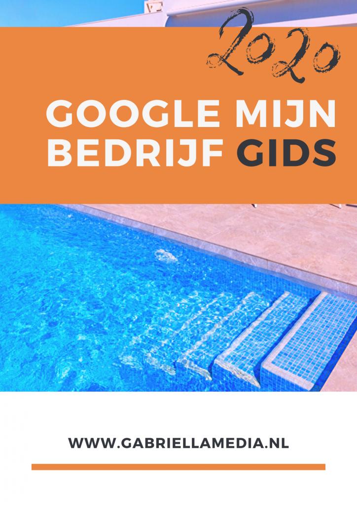 GMB Gids 2020 - Google Mijn Bedrijf handleiding