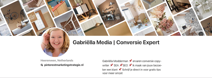 Pinterest-example | Gabriëlla Media | Pinterest cover
