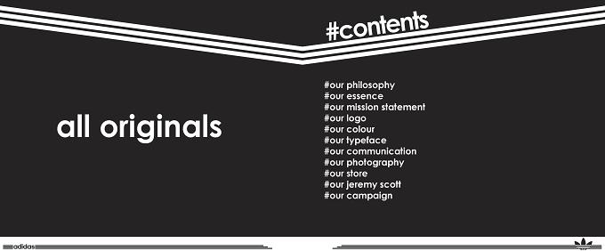 Brand Book voorbeeld | Adidas | Visual Guidelines