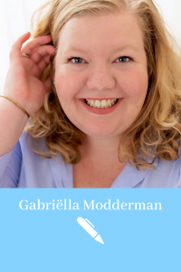Gabriëlla Media | Voorbeeld Pinterest cv | Creative Pinterest resume