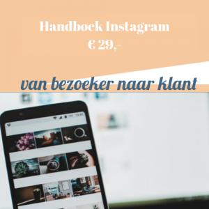 Instagram Handleiding | Handboek Instagram