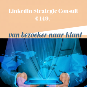 LinkedIn Strategie Consult | LinkedIn begeleiding