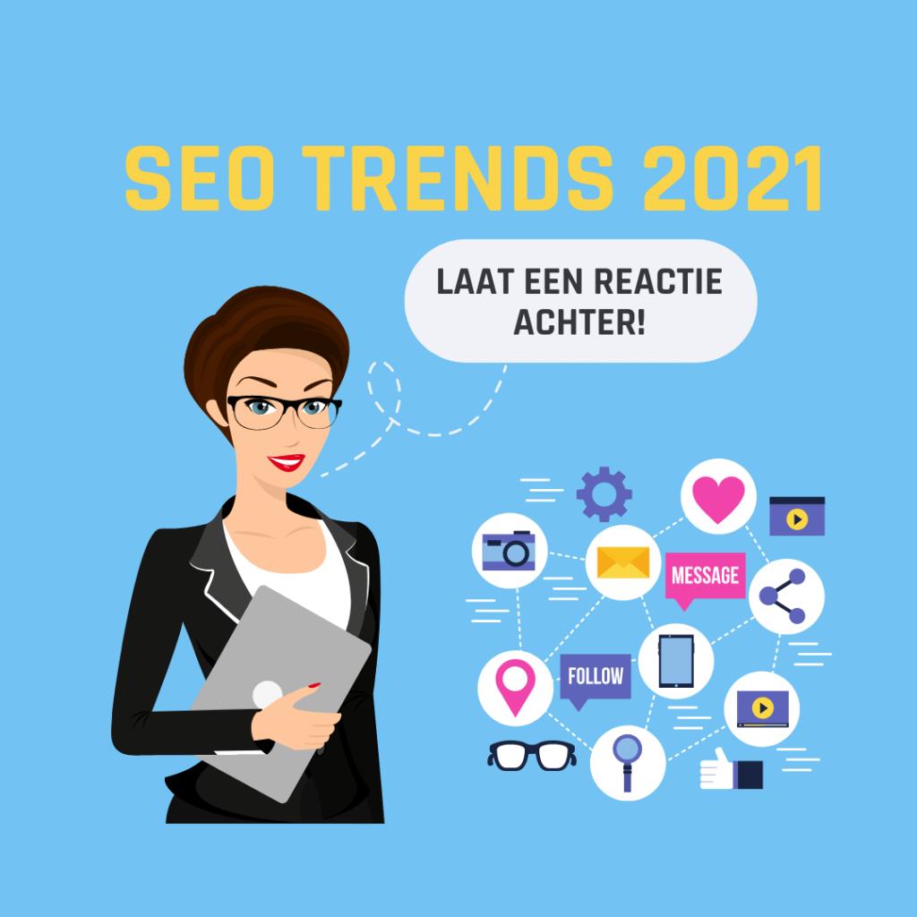 SEO trends 2021: Laat een reactie achter!