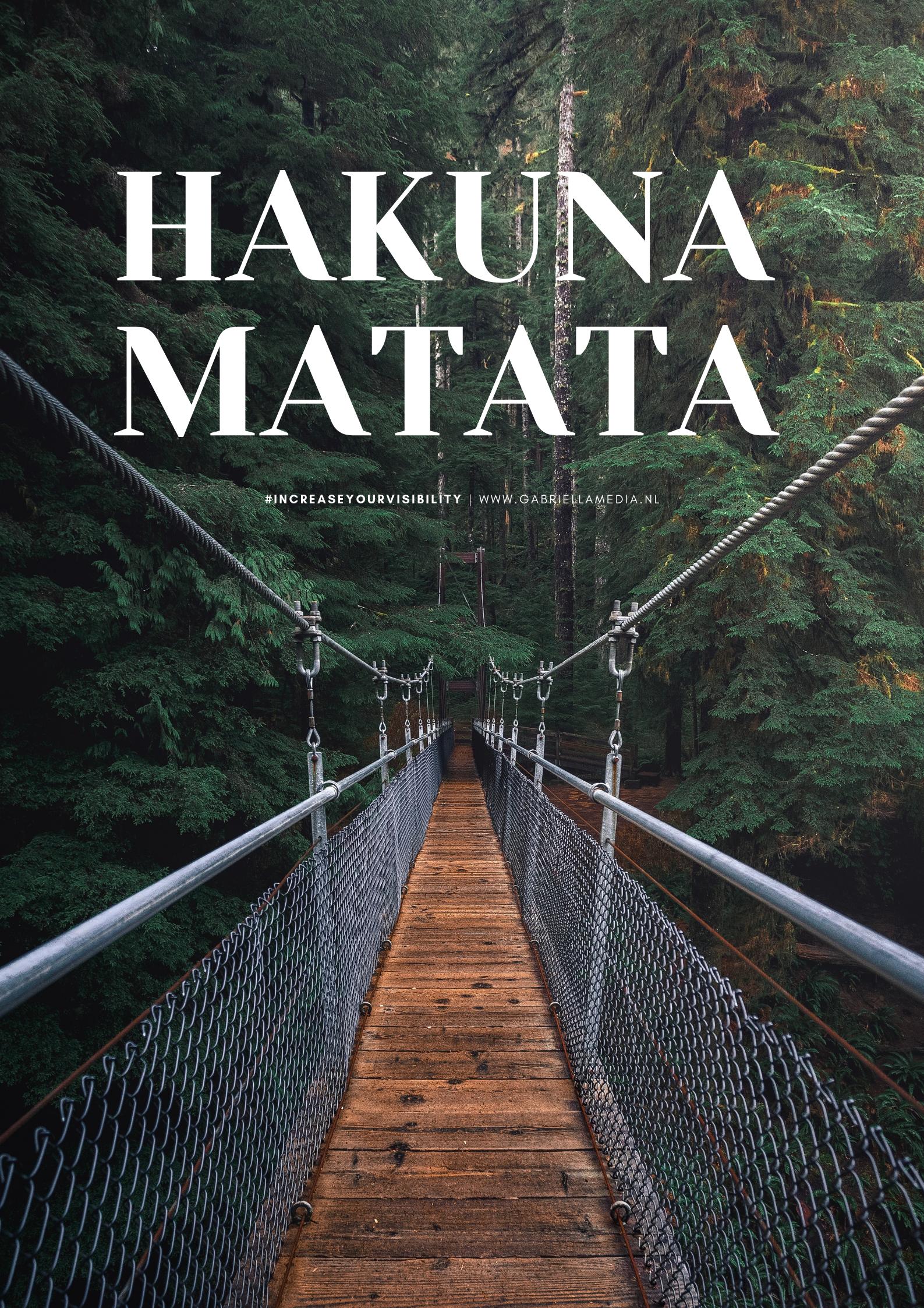 #03/2019 - Printable | Hakuna MATATA