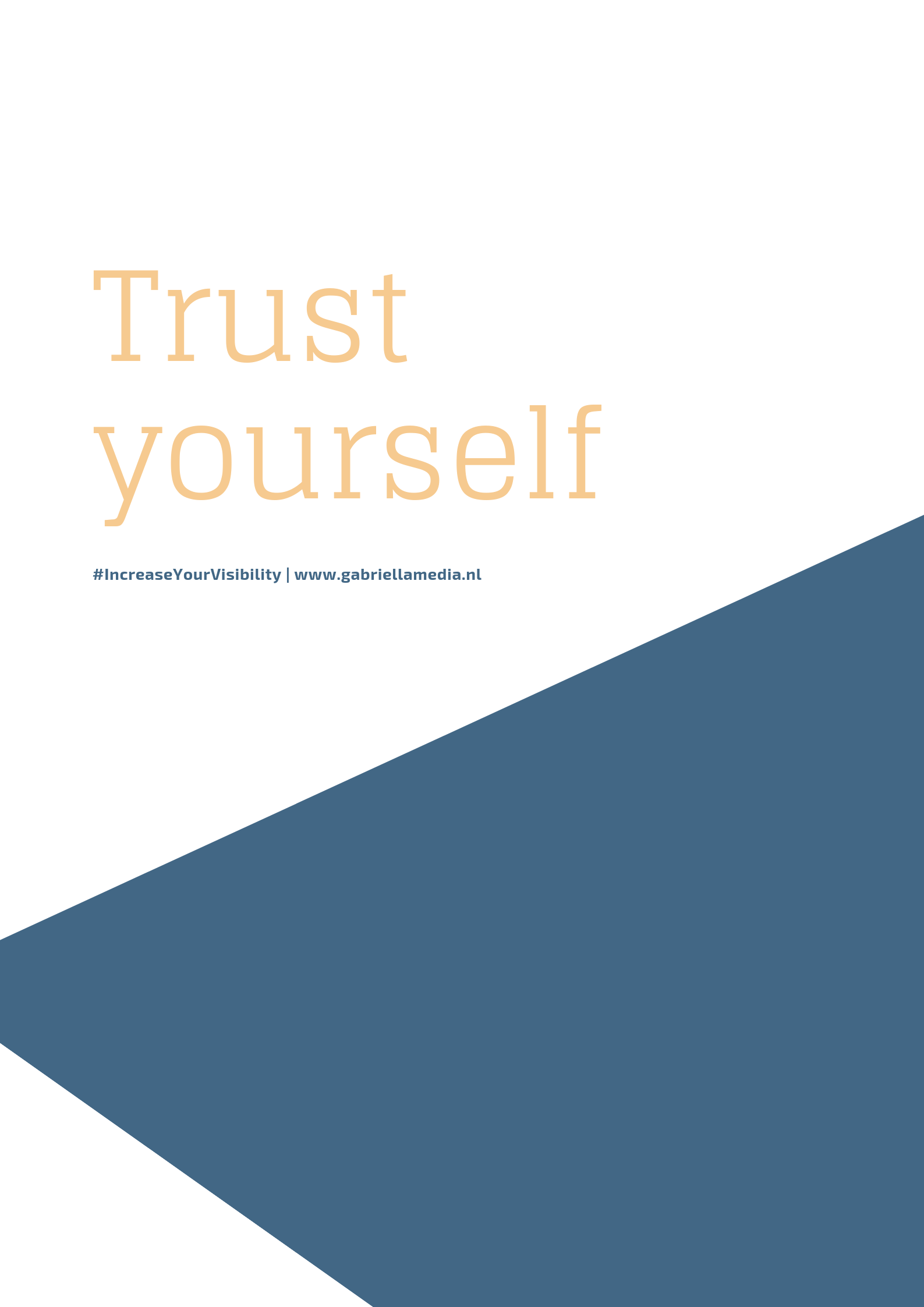 #06/2019 - Printable | Trust yourself