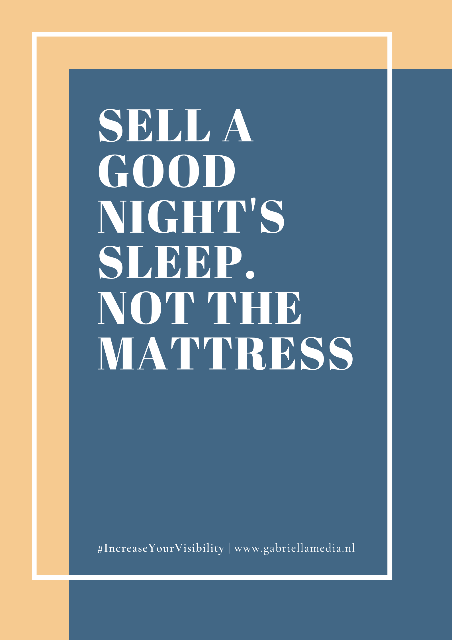 #01/2019 - Printable | Sell a good night's sleep