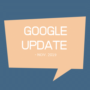 Google Updates Nov. 2019 - Neutrale matching