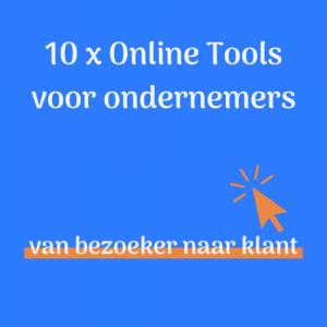 10 x Online Tools voor ondernemers
