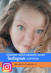 Verkoop meer dankzij jouw Instagram captions - Instagram freebie