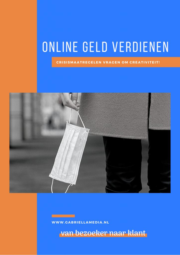 Online geld verdienen - 16 ideeën in een e-book - coronavirus