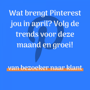 Pinterest trends april 2020 - Pinterest marketing strategie