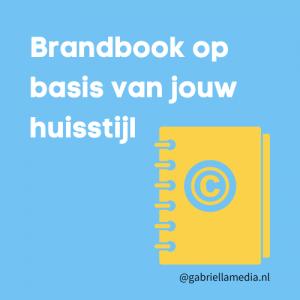 Brandbook op basis van jouw huisstijl
