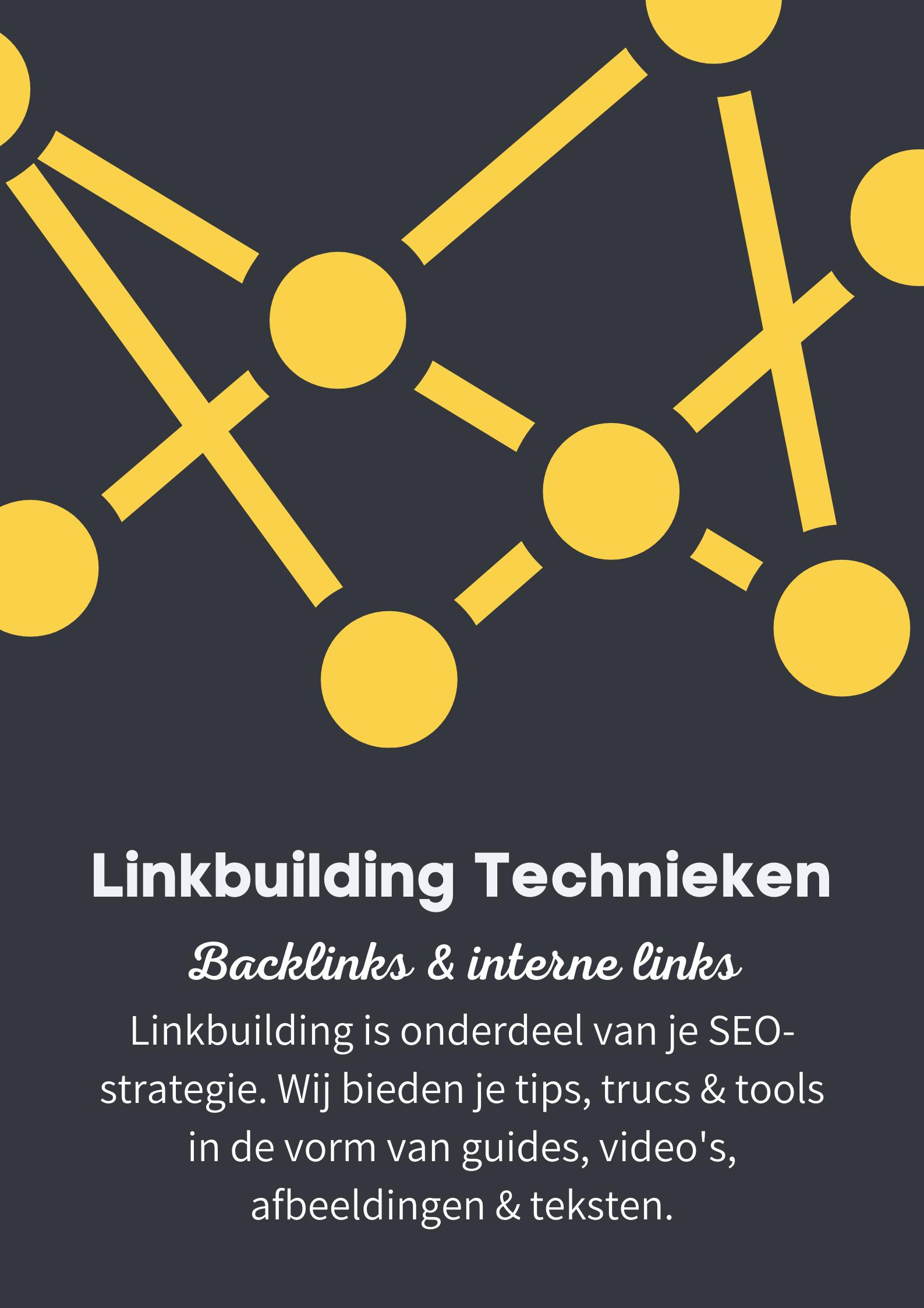 Linkbuilding SEO - pillar page