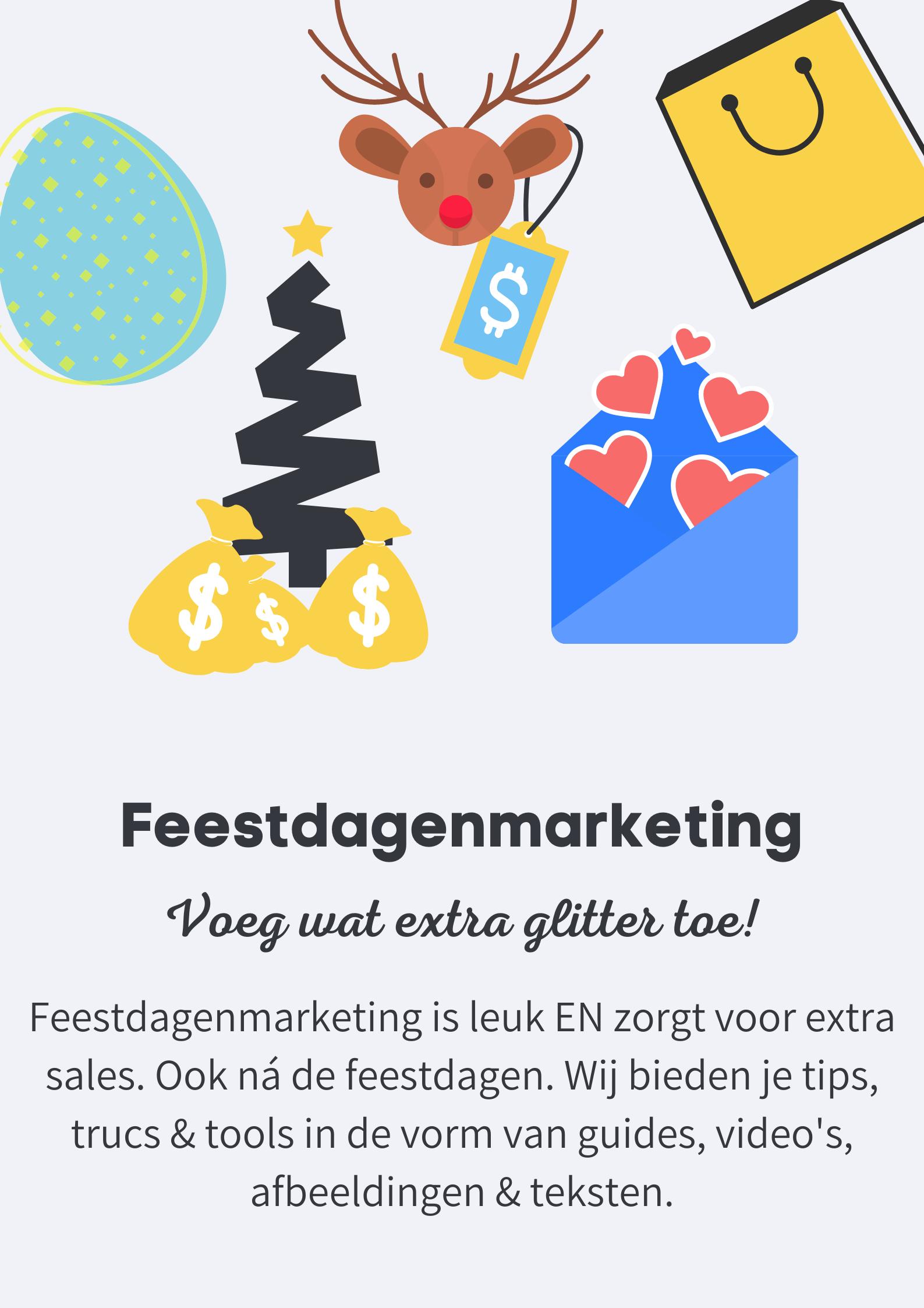 Feestdagen marketing - Pillar page