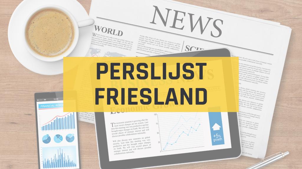 Perslijst Friesland - Persbericht verspreiden