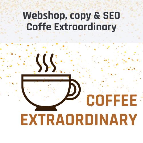 Koffie webwinkel