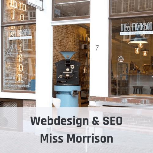 Webdesign & SEO Miss Morrison Delft