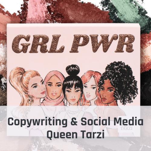 Copywriting Queen Tarzi